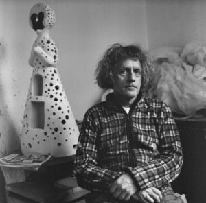 Grayson Perry in his Studio