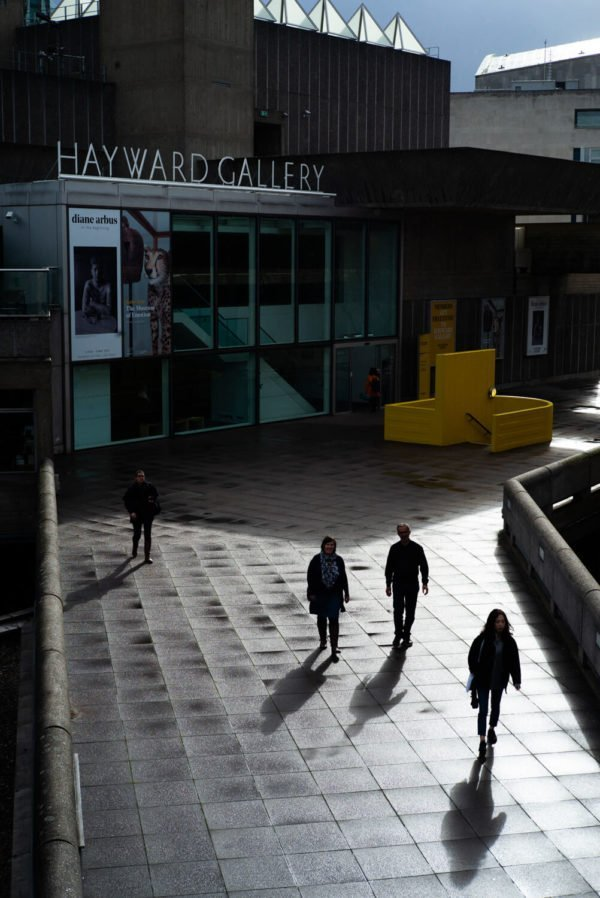 The Hayward Gallery, photograph by Alex Schneideman, 2019
