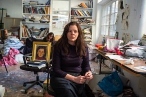 Chantal Joffe photographed by Alex Schneideman