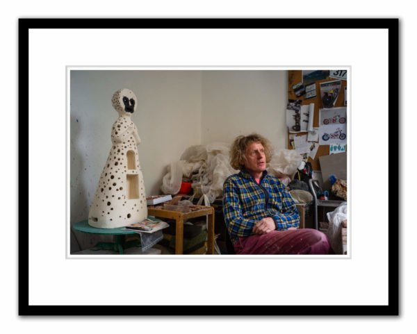 Grayson Perry photographed by Alex Schneideman 12/4/19