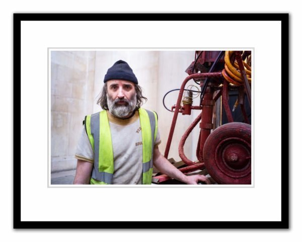 Mike Nelson photographed by Alex Schneideman at Tate Britain, London, 14/3/19