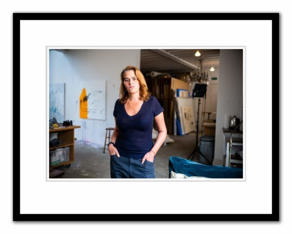 Tracey Emin photographed by Alex Schneideman, London 25/3/19eideman in her studio, London 25/3/19