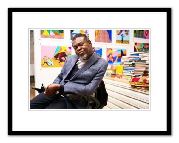Yinka Shonibare photographed by Alex Schneideman at his studio in London 5/4/19