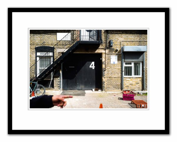 Carlos Ishikawa Gallery entance, Stepney Green